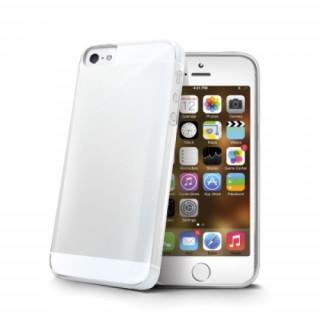 Celly iPhone SE-5S-5 TPU hátlap, átlátszó Mobil
