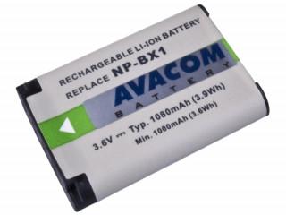 Avacom utángyártott akkumulátor digitális kamerához,  Sony NP-BX1 Li-ion 3.6V 10 Fotó, videó