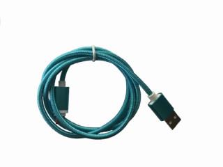 BH190 Micro USB kábel 1m kék Mobil