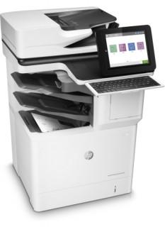 HP LaserJet Enterprise Flow M632z mono A4 MFP, duplex, LAN, FAX, 3 év promó PC