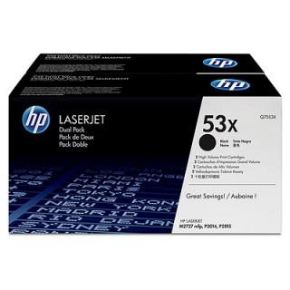 HP LaserJet 53X 2 darabos nagy kapacitású fekete tonerkazetták PC
