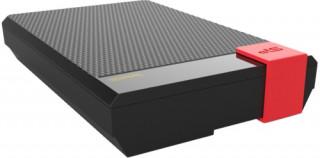Silicon Power Külső HDD - D30, USB 3.0, 3TB, 15mm: Float design, IPX4, Black PC