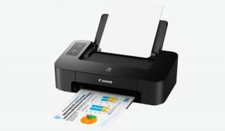 Canon PIXMA TS205 színes otthoni A4 tintás nyomtató, fekete PC