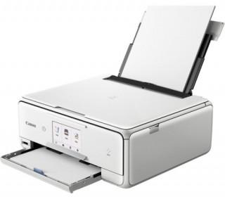 Canon PIXMA TS8151 színes otthoni A4 tintás 3in1 MFP, duplex, WIFI, fehér PC