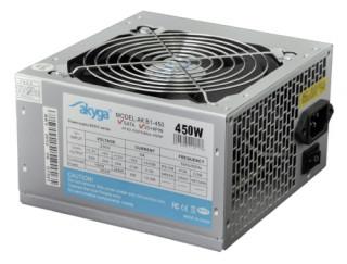 Akyga Basic 450W 12CM Dobozos tápegység PC