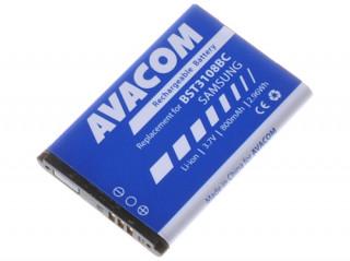 Avacom utángyártott mobiltelefon akkumulátor, Samsung X200, E250 Li-Ion 3,7V 800 Mobil