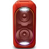 Sony GTK-XB60R nagy teljesítményű hangrendszer, piros Több platform
