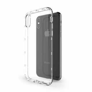 Hana Air szilikon hátlap, iPhone SE, Átlátszó Mobil