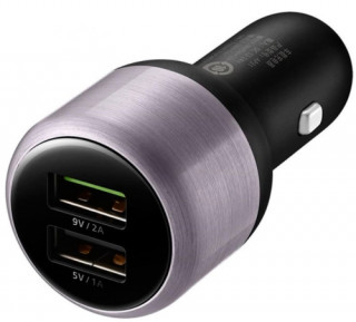 Huawei QuickCharge szivargyújtó, 2 USB, Type-C kábel Mobil