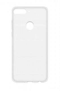 Huawei Y7 Prime szilikon hátlap, Átlátszó