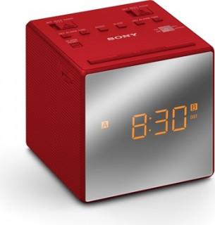 Sony ICF-C1TR rádiós óra piros Több platform