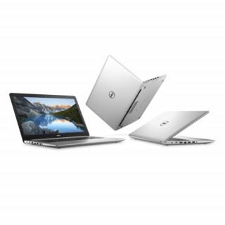Dell Inspiron 17 Silver notebook FHD Ci7 8550U 8GB 128GB+1TB R530/4G Linux PC