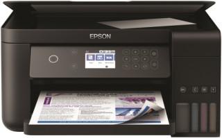 Epson EcoTank L6160 színes tintasugaras A4 MFP, duplex, LAN, WIFI, 3 év garancia PC