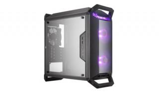 Cooler Master MasterBox Q300P táp nélküli ablakos Micro-ATX ház fekete PC