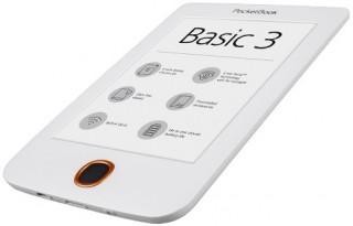 PocketBook Basic3  E-Book olvasó fehér Több platform