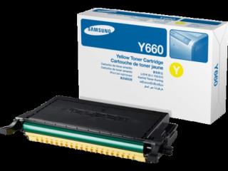 HP / Samsung CLP610, CLP660B sárga toner, 5000 oldal PC