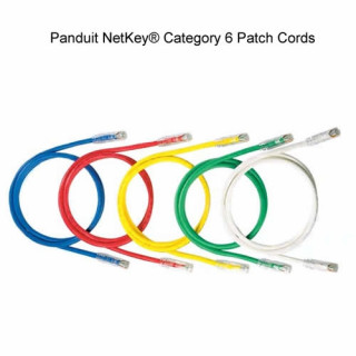 Panduit NetKey Category 6, UTP patchkábel, 2 m, fekete PC