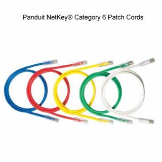 Panduit NetKey Category 6, UTP patchkábel, 3 m, sárga PC