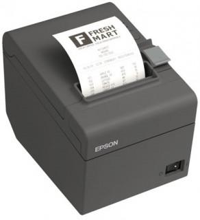 Epson TM-T20II blokknyomtató, vágó, USB, LAN, fekete PC