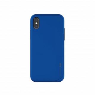 Hana Wing műanyag hátlap,kártya tartóval,iPhone 8, Kék Mobil