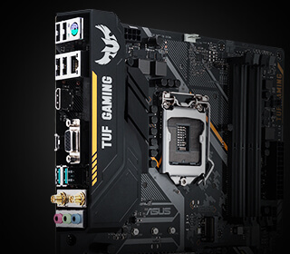 ASUS TUF B360-PLUS GAMING, LGA1151, B360, ATX alaplap PC