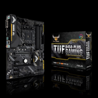 ASUS TUF B450-PLUS GAMING, Socket AM4, AMD, ATX alaplap