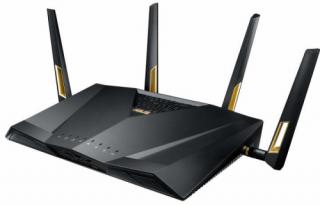 Asus RT-AX88U AX6000 Mbps Dual-band WiFi 6 gigabit AiMesh OFDMA gaming Wi-Fi router