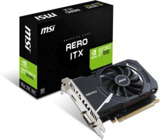 MSI Geforce GT 1030 AERO ITX 2G OC videokártya PC