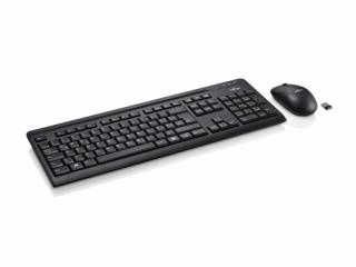 Fujitsu vezeték nélküli billentyűzet + egér LX410 USB HU PC
