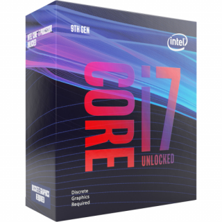 Intel Core i7-9700KF 3.60GHz Socket 1151 dobozos /BX80684I79700KF/ (Ventilátor n PC