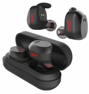 Elari NanoPods Sport Bluetooth fülhallgató - Fekete