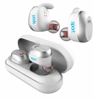Elari NanoPods Sport Bluetooth fülhallgató - Fehér Mobil