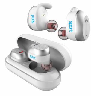 Elari NanoPods Sport Bluetooth fülhallgató - Fehér