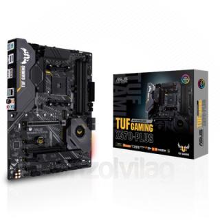 ASUS TUF TUF GAMING X570-PLUS Socket AM4 ATX alaplap PC