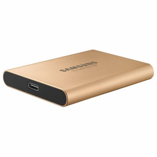 Samsung Portable T5 SSD meghajtó 1000GB, Rose Gold
