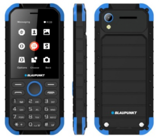 Blaupunkt Sand telefon, kék-fekete Mobil