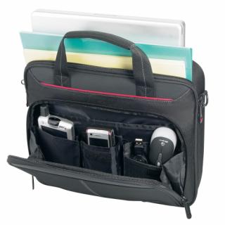 Targus Classic fekete gyöngyvászon notebook táska - 15