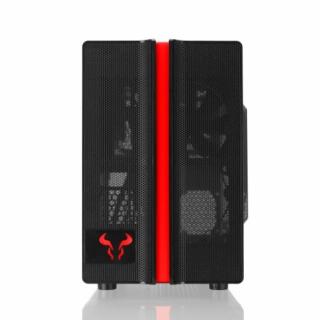 RIOTORO CR1088 Prism RGB Mini Tower Gamer Gépház PC