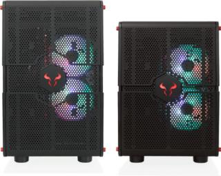 RIOTORO GPX100 MORPHEUS állítható méretű gamer gépház PC