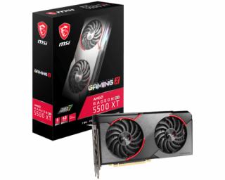 MSI Radeon RX 5500 XT GAMING X videokártya PC