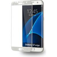 AZURI ívelt képernyővédő-edzett üveg-fehér-Samsung G935 Galaxy S7 edge Mobil