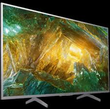 Sony KD-55XH8077SAEP 4K HDR Android Silver LED TV/FULL ARRAY