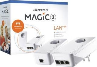 devolo Magic 2 LAN triple Starter Kit (Bontott)