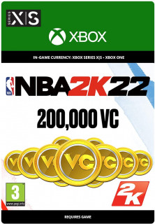 NBA 2K22: 200,000 VC (ESD MS)