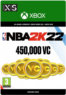 NBA 2K22: 450,000 VC (ESD MS)