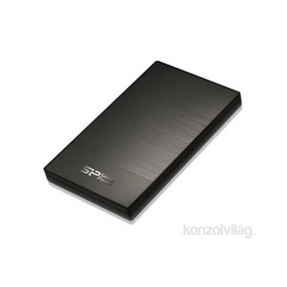 Silicon Power Diamond D05 500GB USB3.0 szürke winchester PC