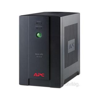 APC BACK UPS BX 800VA BASIC szünetmentes tápegység kommunikáció nélkül