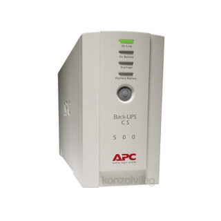 APC BACK UPS 500VA szünetmentes tápegység PC