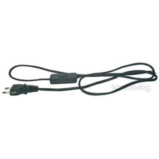 Emos S09272 Flexo 2 méter fekete kapcsoló kábel