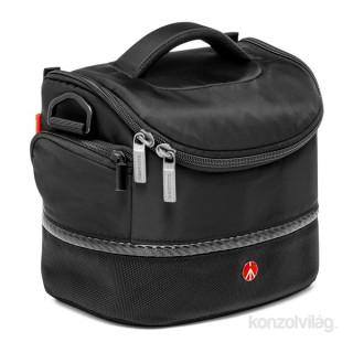 Manfrotto Advanced Shoulder bag V fekete SLR fényképezőgép táska PC